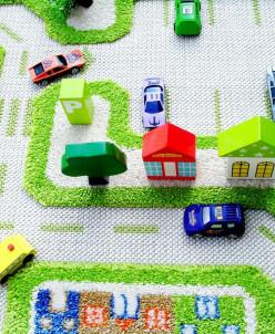Ковер «Трафик» зеленый 80*150