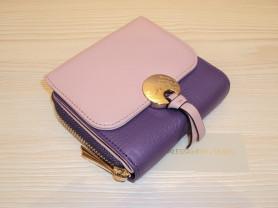 Новый фиолетово-пудровый кошелек Alessandro Beato