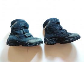 Зимние ботинки ecco ортопедические непромокаемые