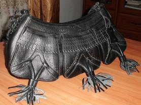 Новая кожаная сумка Gillian Vera Pelle 30х42х17