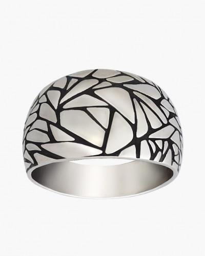 Кольцо из серебра Арктика Юмила