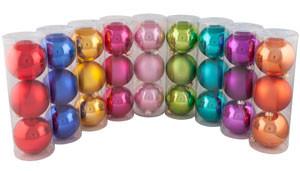 """Набор шаров """"Новогодний"""", диаметр 85 мм."""