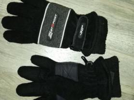 Флисовые перчатки детские на 4-6лет не тонкие!!!