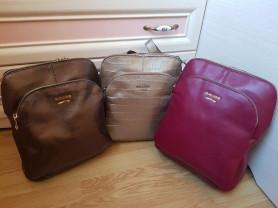 Новые стильные кожаные рюкзаки Италия