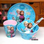 Набор детской столовой посуды для ребенка Hello Kitty, мелам