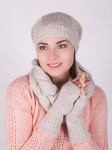 ХИТ ПРОДАЖ! Комплект шапка + снуд + перчатки 11122A/05