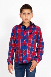 Рубашечка для мальчика, размер 7 - 8 лет