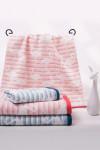 """Полотенце махровое с жаккардовым рисунком """"Фламинго"""" (50*90)"""
