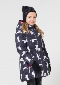 куртка зимняя девочка Крокид Crockid зима 19-20
