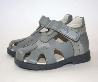 ТОТТО Ортопедические сандалии арт.078-КП-01.111 серый