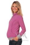 Толстовка флисовая для беременных и кормящих мам Yammy Mammy