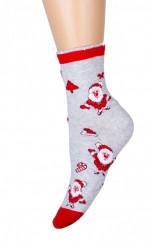 Носки женские с-1441 (упаковка 5 пар) падарочные