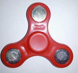 Игрушка-антистресс спиннер маленький 6,5 см.