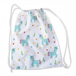 Сумка-рюкзак Добрые единорожки 1 габардин