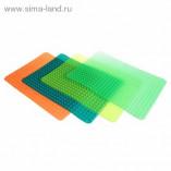 Коврик силиконовый для раскатки теста и запекания 41х30 см,