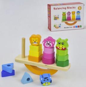 Деревянная игрушка - балансир