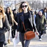 Маленькая женская сумка с мягкими ручками, PU кожа