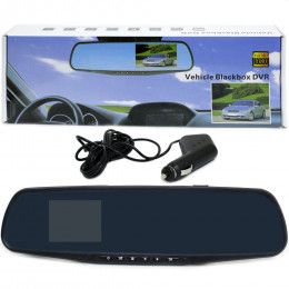Зеркало заднего вида с камерой Vehicle Blackbox DVR
