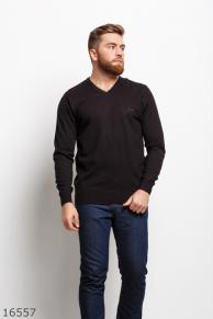 Мужской пуловер 16557 черный