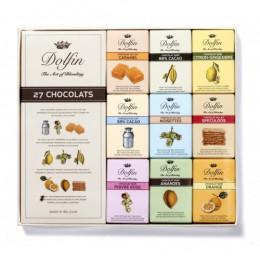 Подарочный набор из 27 шоколадок по 10 гр