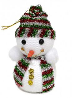 """Мягкая игрушка """"Снеговик"""" 12см"""