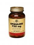 Таблетки Solgar Спирулина 750 мг (100 таб.)