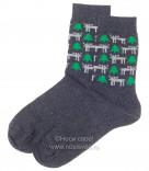 Н434/7 Мужские носки (темно-серый)