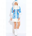 Карнавальный костюм Снегурочка вышивка (д/взр)