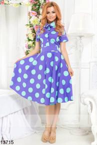 Платье в горох 13715