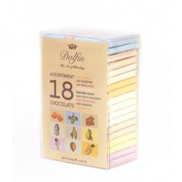 Подарочный набор из 18 шоколадок по 10 гр.