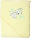 Плед-полотенце с уголком-капюшоном EKO, желтое