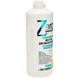 Zero Dishwashing Gel Эко гель для мытья посуды на натурально