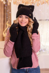 Комплект «Габриэлла» (шапка, шарф и перчатки) 4390-15