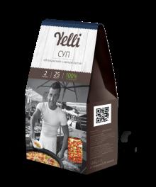 """Коллекция  Yelli 2 порции -Суп """"Итальянский"""" с мелкой пастой"""