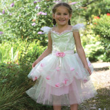 Girls 'Apple Green Fairy' Costume
