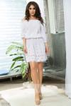 Летнее платье с вышивкой 13755