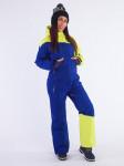 Комбинезон женский Snow Headquarter B-8663, Желто-голубой
