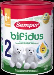 """Semper молочная смесь """"Сэмпер бифидус нутрадефенс 2"""