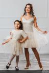 """Комплект платьев для мамы и дочки """"Безе"""""""