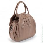 Женская кожаная сумка 18069 Хаки