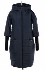 05-1402 Куртка зимняя (Синтепон 300) Плащевка Navy