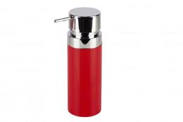 LENOX (красный) Дозатор для жидкого мыла (0,3л), пластик