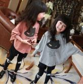 Корейский детский брючный костюм с длинным рукавом