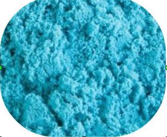 песок 1 кг. цвет голубой