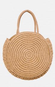 Бескаркасная плетенная сумка MR 2222 2372 0220 Beige от MR52