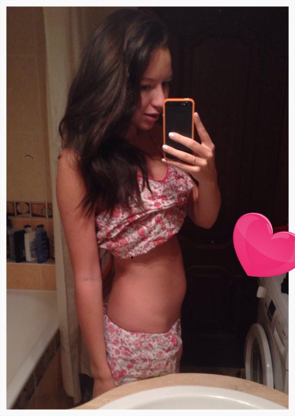 Фото животиков 21 неделя беременности