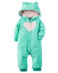 Hooded Fleece Jumpsuit.КАРТЕРС.