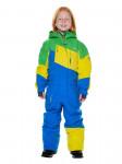 Детский горнолыжный комбинезон 2019-2020, T-8811, Синий