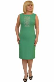 Платье с вышивкой Л269-3  с 56  + 100р