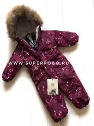 Pogo Kids, зимний комбинезон арт Pg88829 (цвет - бордовый)